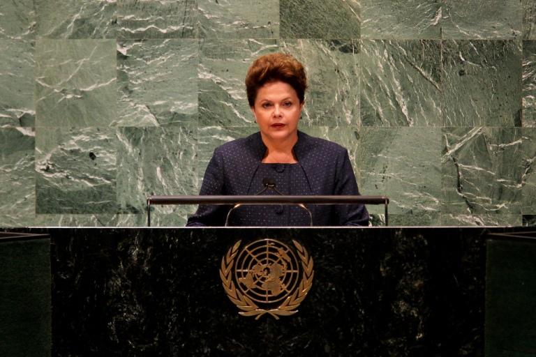 Nova Iorque - EUA, 19/09/2011. Presidenta Dilma Rousseff participa da Abertura da Reunião de Alto Nível sobre Doenças Crônicas Não-Transmissíveis na Sede da Organização das Nações Unidas (ONU). Foto: Roberto Stuckert Filho/PR.